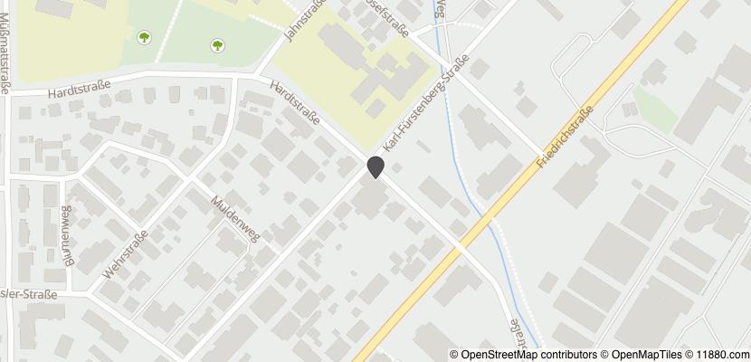 Auf Stadtplan Rheinfelden, Baden anzeigen