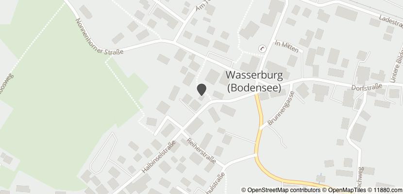 Auf Stadtplan Wasserburg, Bodensee anzeigen