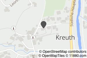 Auf Stadtplan Kreuth bei Tegernsee anzeigen