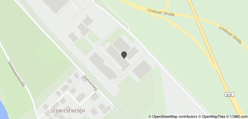 Auf Stadtplan Friedrichshafen anzeigen