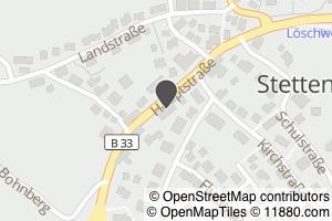 Auf Stadtplan Stetten bei Meersburg anzeigen