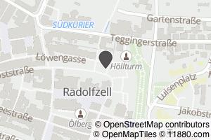 Auf Stadtplan Radolfzell am Bodensee anzeigen