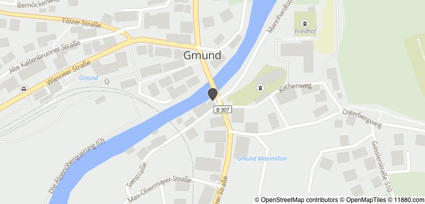 Auf Stadtplan Gmund am Tegernsee anzeigen