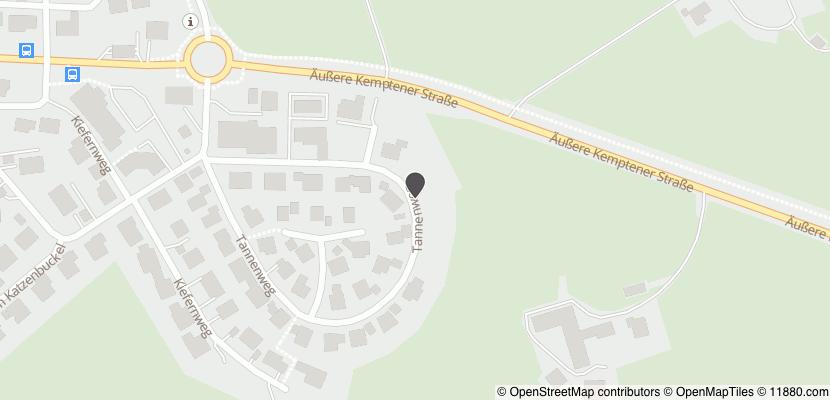 Auf Stadtplan Altusried anzeigen