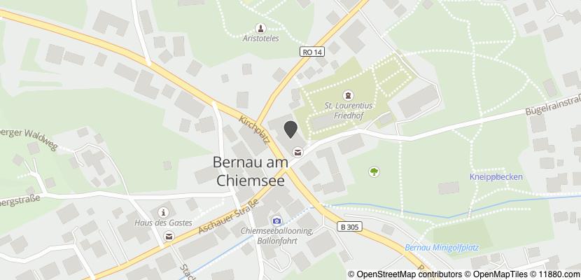 Auf Stadtplan Bernau am Chiemsee anzeigen