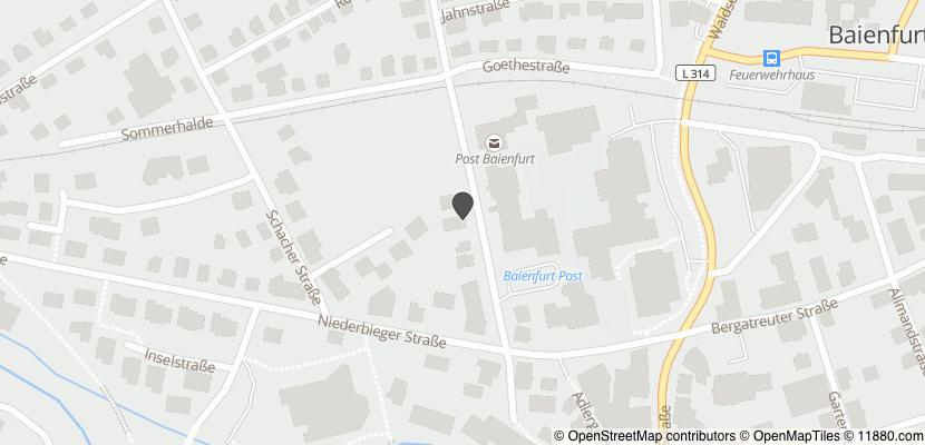 Auf Stadtplan Baienfurt anzeigen