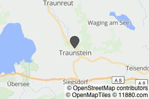 Auf Stadtplan Traunstein, Oberbayern anzeigen
