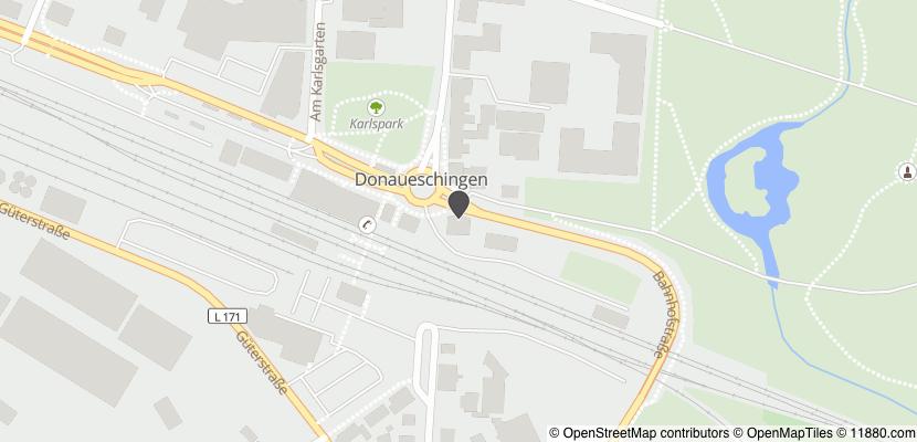 Auf Stadtplan Donaueschingen anzeigen