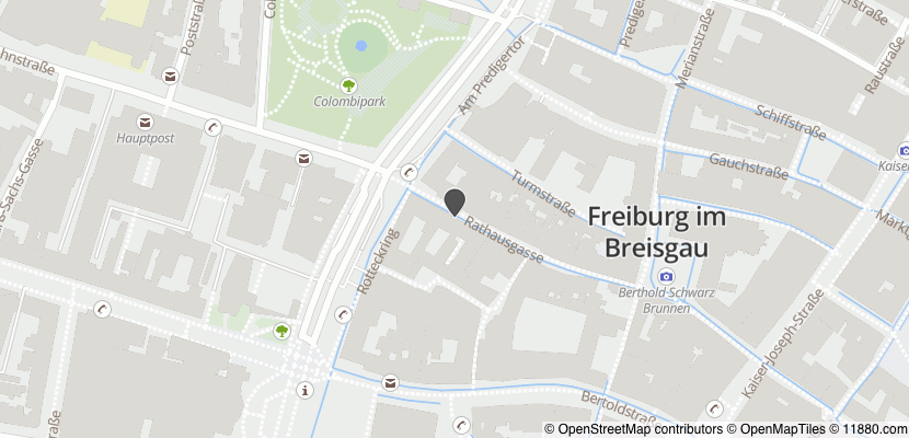 Auf Stadtplan Freiburg im Breisgau anzeigen
