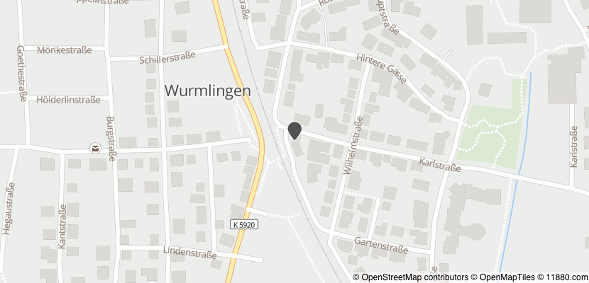 Auf Stadtplan Wurmlingen bei Tuttlingen anzeigen