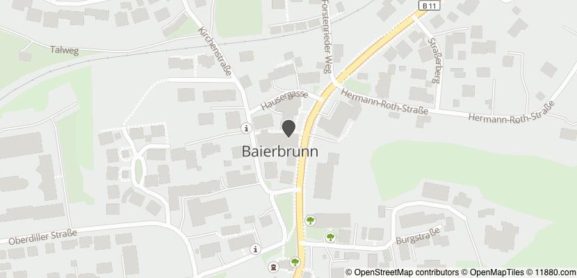 Auf Stadtplan Baierbrunn, Isartal anzeigen
