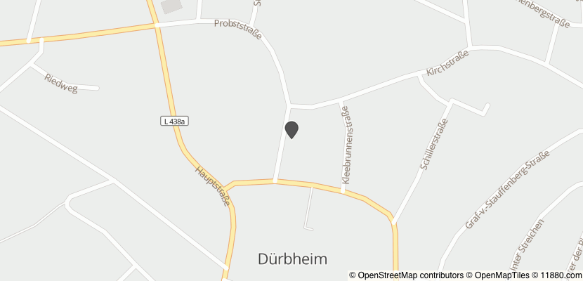 Auf Stadtplan Dürbheim, Kreis Tuttlingen anzeigen