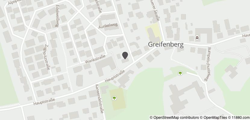 Auf Stadtplan Greifenberg am Ammersee anzeigen