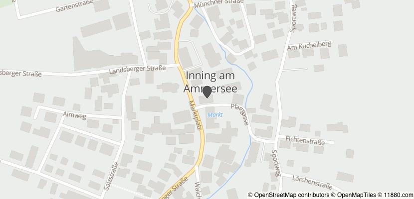 Auf Stadtplan Inning am Ammersee anzeigen