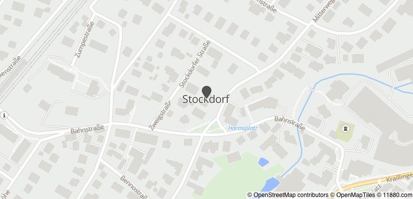 Auf Stadtplan Stockdorf, Gemeinde Gauting anzeigen