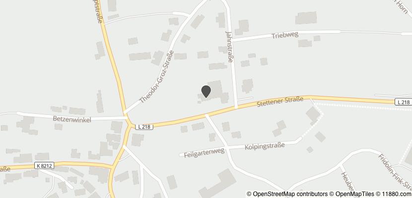 Auf Stadtplan Schwenningen, Baden anzeigen