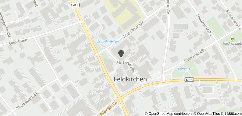 Auf Stadtplan Feldkirchen, Kreis München anzeigen