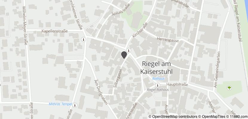 Auf Stadtplan Riegel, Kaiserstuhl anzeigen