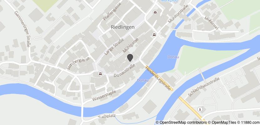 Auf Stadtplan Riedlingen, Württemberg anzeigen