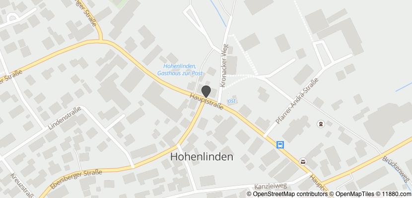 Auf Stadtplan Hohenlinden anzeigen