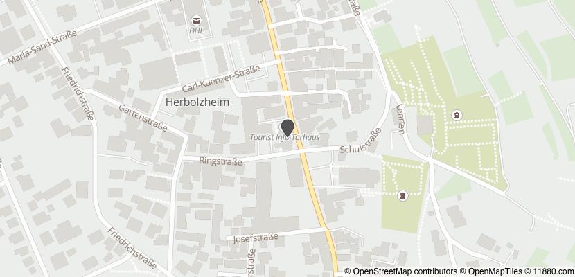 Auf Stadtplan Herbolzheim, Breisgau anzeigen