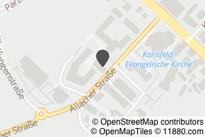 Auf Stadtplan Karlsfeld bei München anzeigen