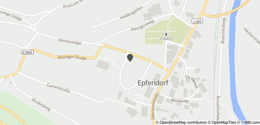 Auf Stadtplan Epfendorf anzeigen