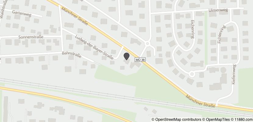 Auf Stadtplan Mettenheim, Kreis Mühldorf am Inn anzeigen
