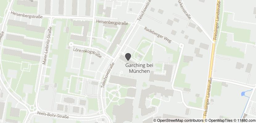 Auf Stadtplan Garching bei München anzeigen