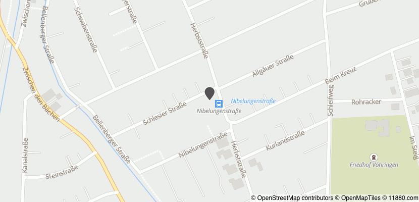 Auf Stadtplan Vöhringen, Iller anzeigen