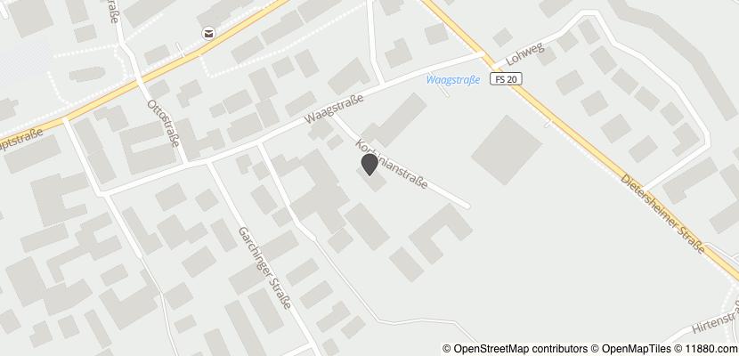 Auf Stadtplan Eching, Kreis Freising anzeigen