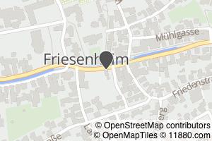 Auf Stadtplan Friesenheim, Baden anzeigen