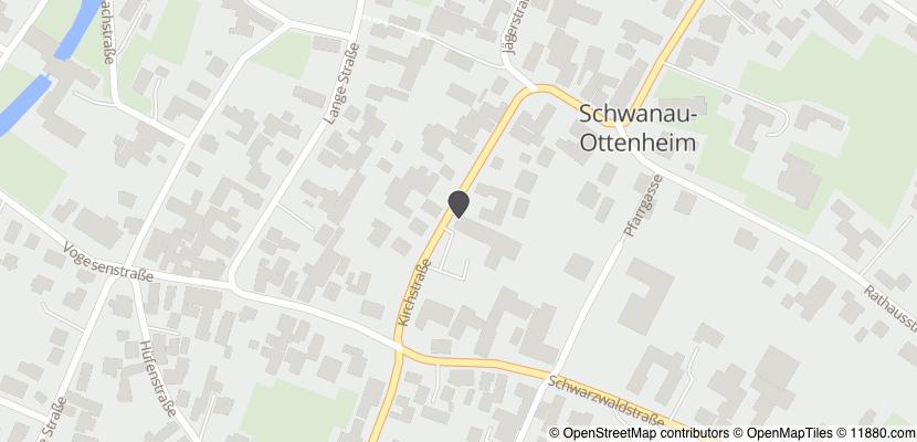 Auf Stadtplan Schwanau anzeigen