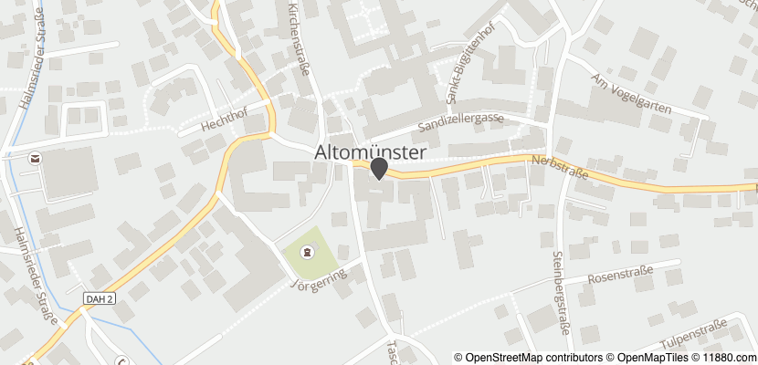 Auf Stadtplan Altomünster anzeigen
