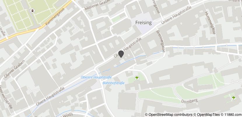 Auf Stadtplan Freising, Oberbayern anzeigen