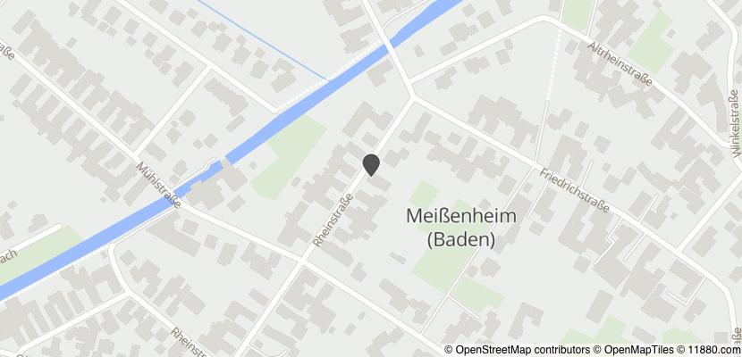 Auf Stadtplan Meißenheim, Baden anzeigen