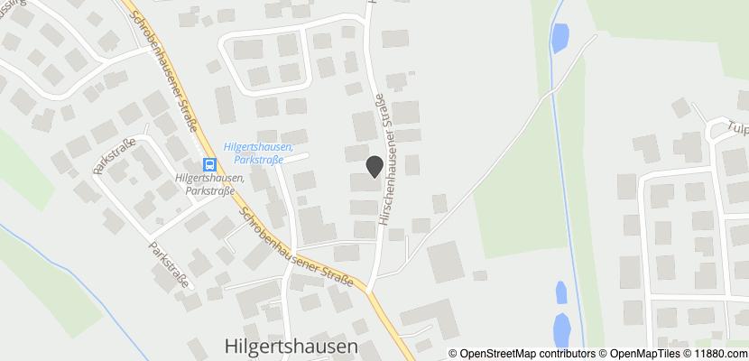 Auf Stadtplan Hilgertshausen-Tandern anzeigen