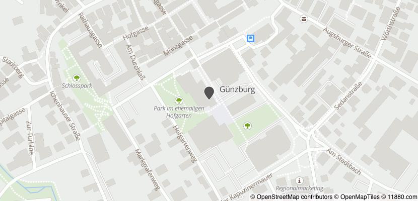 Auf Stadtplan Günzburg anzeigen