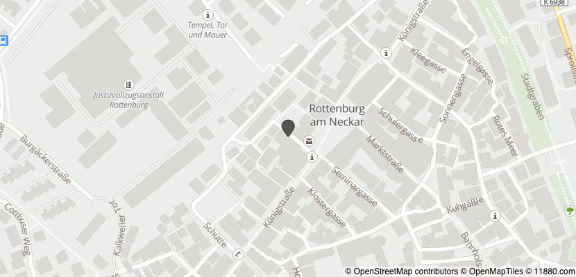 Auf Stadtplan Rottenburg am Neckar anzeigen