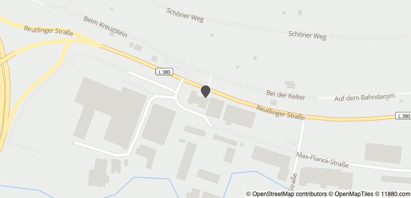 Auf Stadtplan Eningen unter Achalm anzeigen
