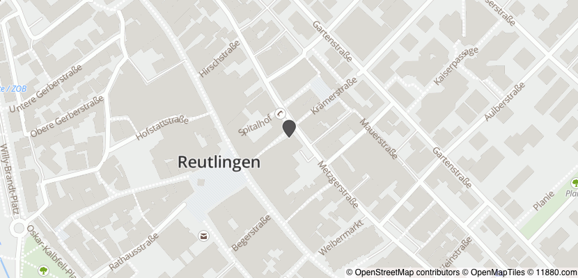 Auf Stadtplan Reutlingen anzeigen