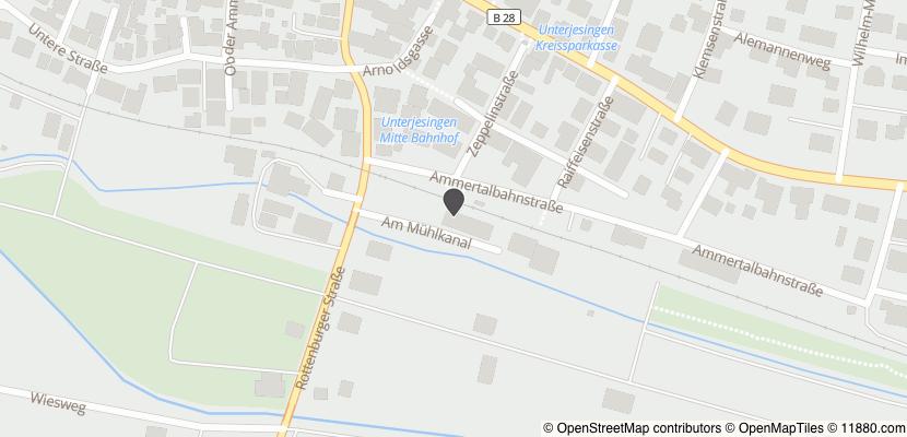 Auf Stadtplan Tübingen anzeigen