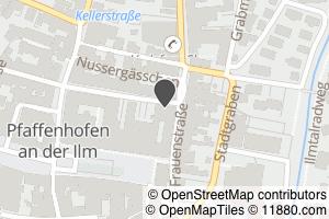 Auf Stadtplan Pfaffenhofen an der Ilm anzeigen