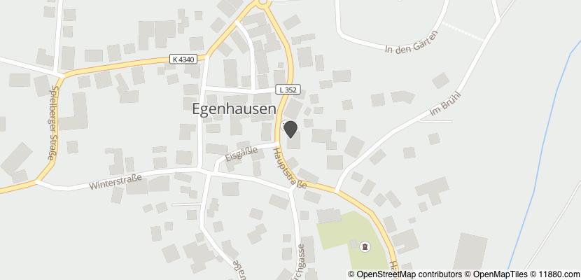Auf Stadtplan Egenhausen, Württemberg anzeigen