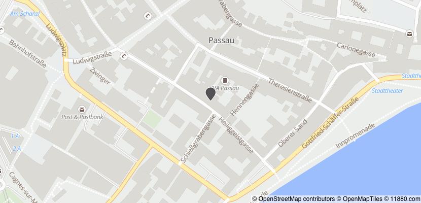 Auf Stadtplan Passau anzeigen