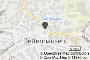 Auf Stadtplan Dettenhausen, Württemberg Anzeigen