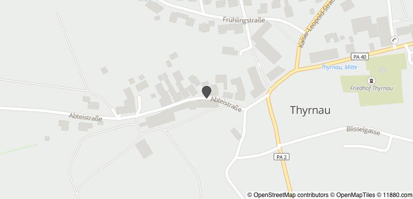 Auf Stadtplan Thyrnau anzeigen