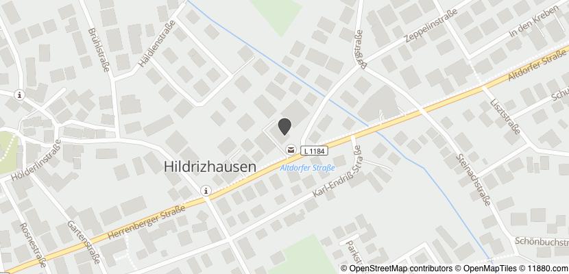Auf Stadtplan Hildrizhausen anzeigen