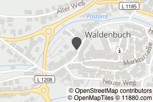 Auf Stadtplan Waldenbuch anzeigen