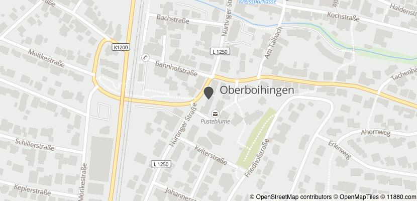 Auf Stadtplan Oberboihingen anzeigen